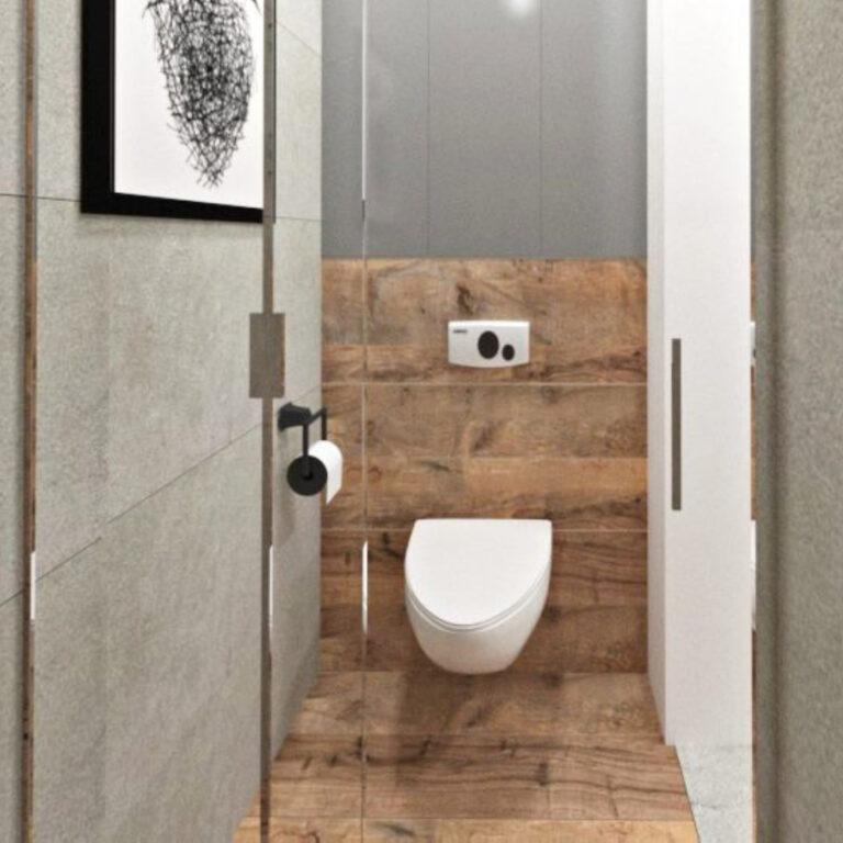 podłogi drewniane łazienka